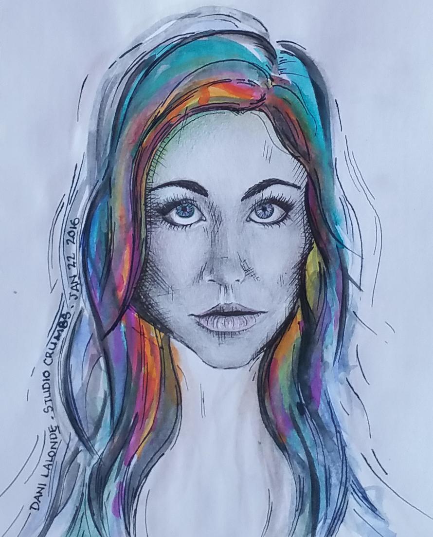 Studio_Crumbs_Sketch_01_Self_Portrait_Dani_Lalonde